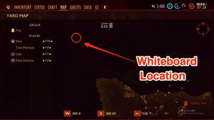 Whiteboard Map