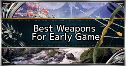 Iceborne Best Early Weapons