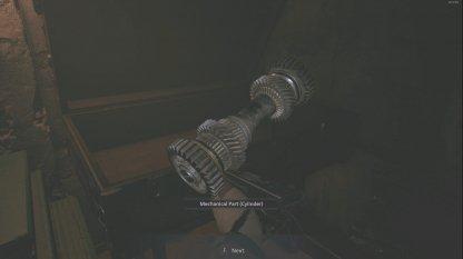 Mechanical Part (Cylinder)