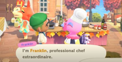 Meet Franklin, The First-Class Chef