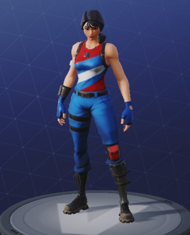 Skin Outfit STAR-SPANGLED RANGER