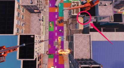 Jonesy Location - Near the Rooftops Bird