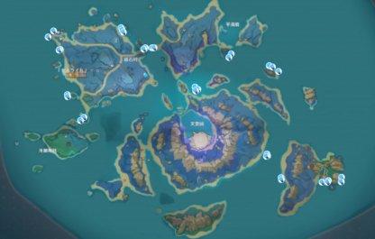 Sea Ganoderma Locations