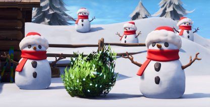 Fortnite Battle Royale Sneaky Snowman Guide - Tips & Techniques
