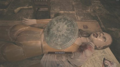 How To Get Brass Medallion