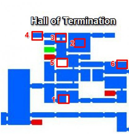 Hall of Termination - Breakable Walls & Secret Rooms
