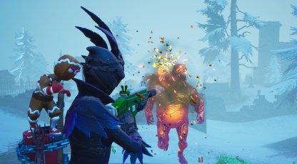 Destroy Golden Ice Brutes - Ice Storm Challenge