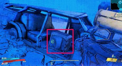 1st Memory Fragment Is Inside Car