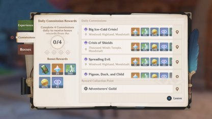 Daily Resetting Activities With Generous Rewards
