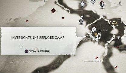 Refugee Camp Map Location