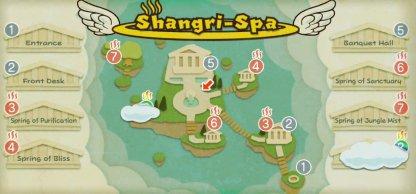 Shangri-Spa Map