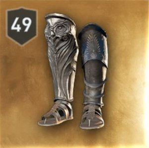 Athenian War Hero Boots Stats