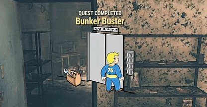 Fallout 76, Bunker Buster - Quest Walkthrough