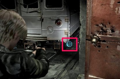 Leon Chapter 1 Emblem 3 Location