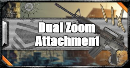 Call of Duty Black Ops IV Weapon Attachments Dual Zoom