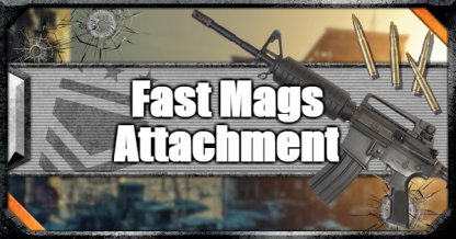 Call of Duty Black Ops IV Weapon Attachments Fast Mags Attachment