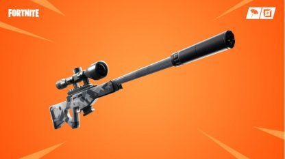 Vaulted: Suppressed Sniper Rifle