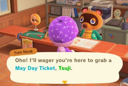 Receive From Tom Nook