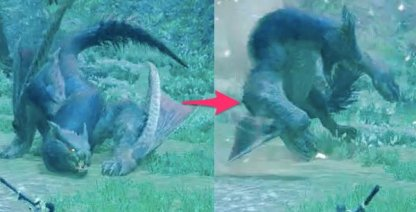 Sonic Bombs against Nargacuga