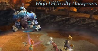 Challenge High Difficulty Dungeons