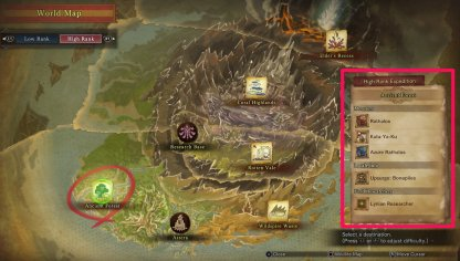 Search Map For Target Monsters