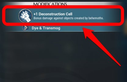 Use The Deconstruction Cell To Destroy Turrets