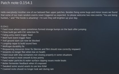 Patch Notes 0.154.1