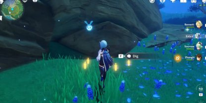 Use Treasure Hunting Seelie To Pinpoint Iron Coins