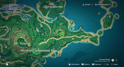 Seelie 2 Location Map