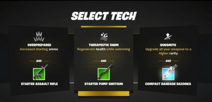Select Tech with Every Respawn