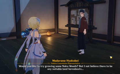 Must Reach Level 3 Reputation In Inazuma First