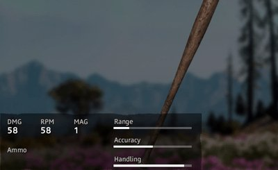 Far Cry New Dawn Old Wood Bat