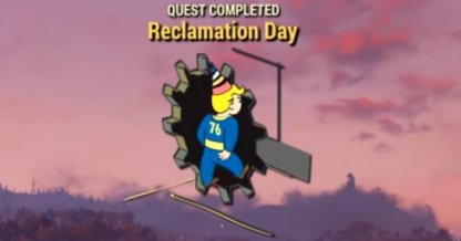 Quest Reclamation Day Completed