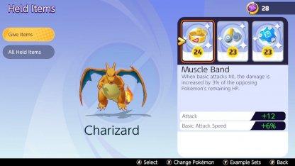 Charizard Items