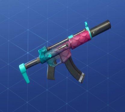 SLIPPERY Wrap - Submachine Gun