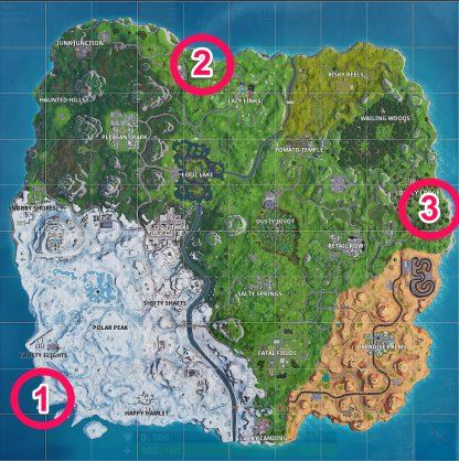 Fortnite | Battle Royale Complete Timed Trials In An X-4 Stormwing Plane (Week 9) All locations