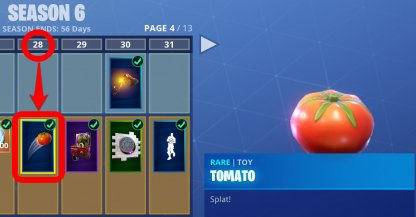 Fortnite Tomato Toy