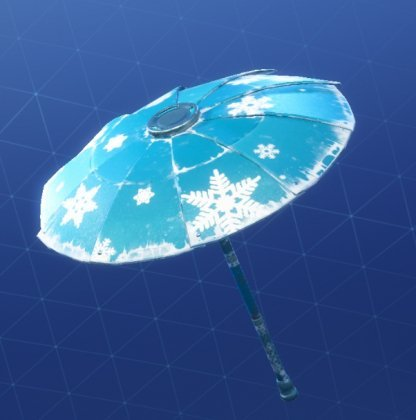 How To Get The Snowflake Umbrella
