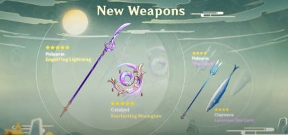New Equipment (Artifacts & Weapons)