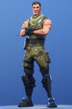 Skin Outfit HIGHRISE ASSAULT TROOPER