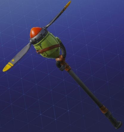 Pickaxe Skin PROPELLER AXE