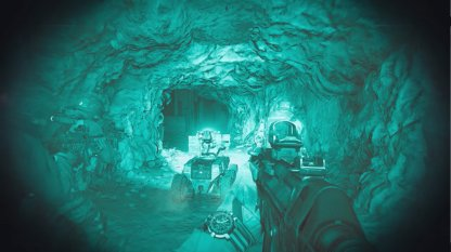 Use Night Vision Goggles In Cave