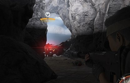 End Of Cave Will Have Big Drones
