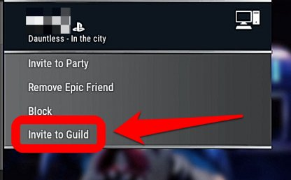 Add Friends To The Guild Via The Social Menu