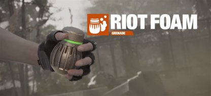 Pin Enemies In Place With the Riot Foam Grenade