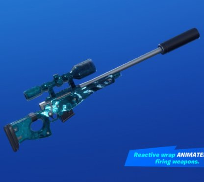 SHATTERED ICE Wrap - Sniper Rifle