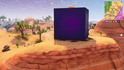 Fortnite - One-Time Cube Event - The Cube