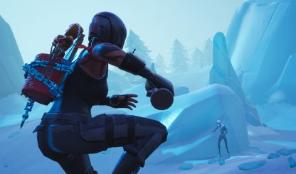 Fortnite Ice Storm Challenge Deal Damage with Explosive Weapons to the Ice Legion
