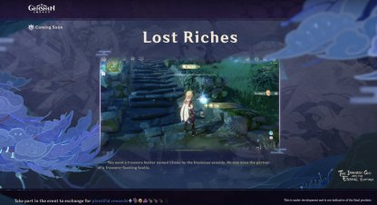 Lost Riches for 2.0 Update
