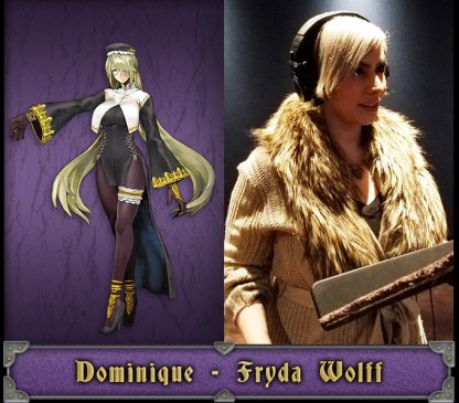 Dominique English Voice Actor - Fryda Wolff